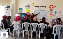 دورة لغة فرنسية في الهيئة اللبنانية لمناهضة العنف ضد المرأة